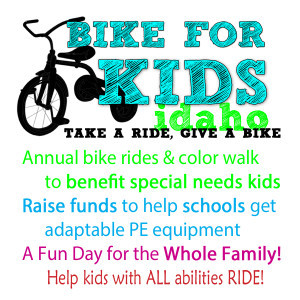 Bike for kids event idaho 2015