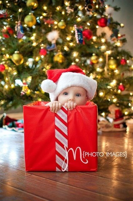 holiday baby announcements