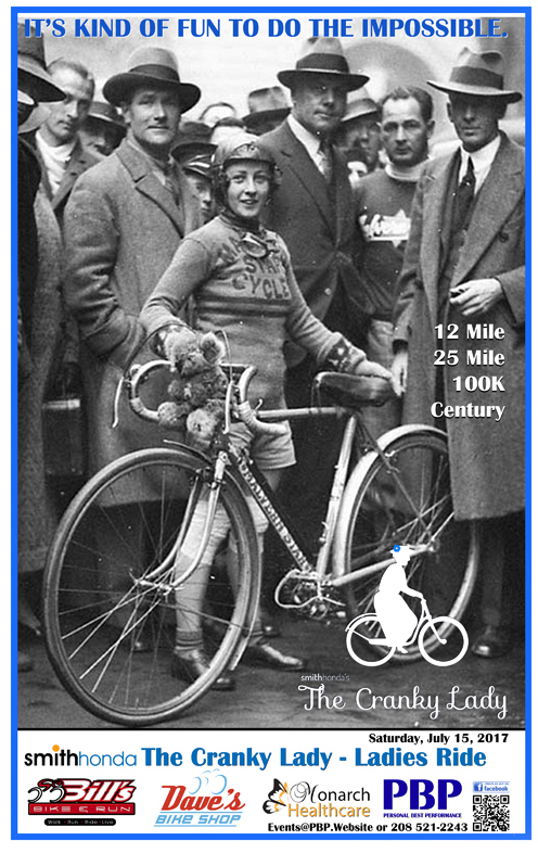 cranky lady bicycle event idaho falls