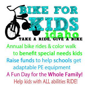 Bike for Kids event