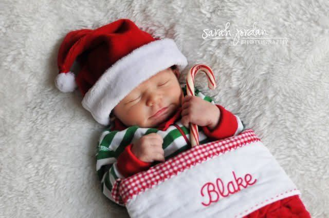 fun christmas baby announcements