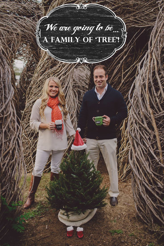 christmas time pregnancy announcements